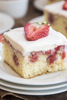 Strawberries & Cream Beignets - A Dash of Sanity