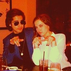 You may recognize them as Jade West and Zack Martin's love interests, but Zoey Deutch and Avan Jogia have been dating for over a year and a half! While they keep it pretty low key, these two a… Avan Jogia, Jade West, Letting Your Guard Down, Zoey Deutch, That One Person, Next Fashion, Signature Look, Colorful Socks, Celebrity Couples