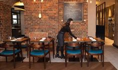 Restaurants tacked on to hotel chains can be a mixed blessing, but this fishy Brighton diner is a great catch, says Jay Rayner Brighton Restaurants, Jay Rayner, Salt Room, Train Station, A Table, Book, Interior, Home Decor, Decoration Home