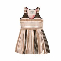 ace & jig boardwalk dress in grainsack
