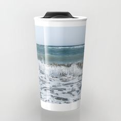Buy Scream  Travel Mug by xiari_photo. Worldwide shipping available at Society6.com. Just one of millions of high quality products available.sea, beach, ocean, waves, foam, shore, sea shore, summer, season, hot, storm, scream, loud, nature, natural, nature photography, photo, pic, photography, photograph, art print, wall art, photographer, sky, clear, blue, white, horizon, landscape, digital, nikon, dslr , xiari, travel mug, mug, coffee, tea, coffee lovers, love coffee, travel