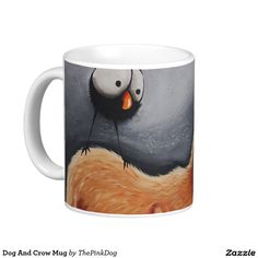 Dog And Crow Mug