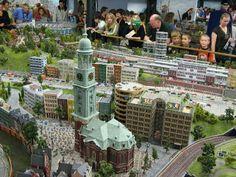 Modelleisenbahn Miniatur Wunderland-Hamburg