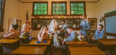 Vintage Schoolhouse Wedding by Moriah Cuda Photography | Fort Lauderdale Wedding Photographers