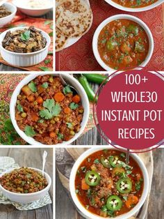You guys seemed to like myInstant Pot Paleo Recipe Roundup, so I decided to take it one step further and createa roundupfor 100+ Whole30 recipes. I know a lot of you are doing Whole30 this January and since theInstant Potmakes cookingso much easier, I figured this would be helpful. Below are 100+ WHOLE30recipes that you… Read More