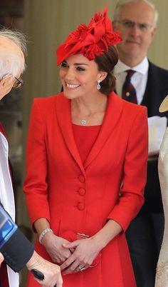 Kate Middleton at the Order of the Garter Service 2016 | POPSUGAR Celebrity