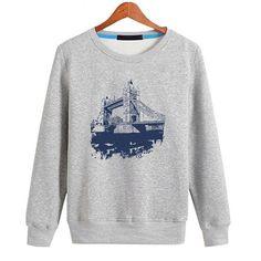 Paris Pullover Sweatshirt