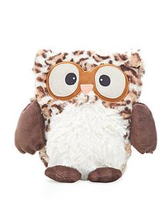 This cute brown wheat owl is microwaveable so you can make him hot to reduce, um, feminine pain problemos, or just have him sitting there looking cute. Or as a hot water bottle. And it's been reduced to 6 quid. Get it now or forever hold back on your desires...