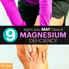 Magnesium deficiency signs and symptoms title. Reading this made me think, It explains many things about the importance of minerals .