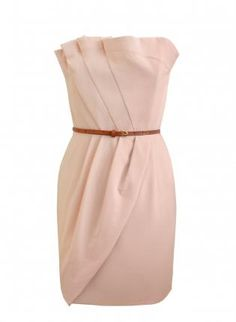 Front+pleated+pink+dress,++Dress,+Front+pleated+pink+dress,+Chic
