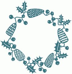 Silhouette Design Store: winter woodland papercut garland Design ID #69310