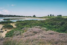 Fairy Floss (2017),  After crossing the causeway to Griffiths Island, I turn to look back towards Port Fairy.  Port Fairy, Vic. Australia. Words & Image: © Gary Light (9686, Jan 2017). Creative Commons: (CC BY-NC-ND 4.0).