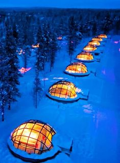 Rent a Glass Igloo in Finland to Watch the Northern Lights.on my next visit to Europe I want to do this! travel destinations You Can Rent A Glass Igloo In Finland To Watch The Northern Lights Vacation Places, Dream Vacations, Vacation Spots, Romantic Vacations, Romantic Places, Romantic Travel, Vacation Trips, Vacation Ideas, Lappland
