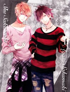 Ayato Diabolik Lovers | anime boy, smile, diabolik lovers, ayato sakamaki, shuu sakamaki