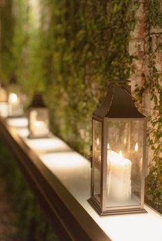 metal wedding lanterns