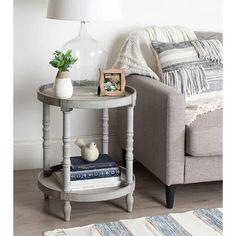 Living Room Table, Farm House Living Room, Furniture, Wooden Side Table, Living Room Side Table, Round Wood Side Table, Table Decor Living Room, Living Room Furniture, Side Table Wood