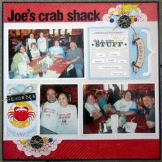 Joe's crab shack.  DCWV Diary: snapshot stack