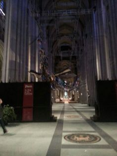 Inside St John the Divine Cathedral
