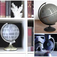 Everyone should have a DIY Death Star Globe