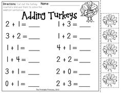 Thanksgiving activities for Kinders! Include centers and print and go activities. Common core aligned.
