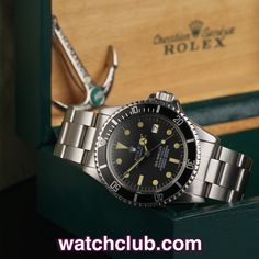 Rolex Sea-Dweller Vintage - 'Rail Dial' REF: 1665 | Year 1978  The rarest variation, the Mark II or 'Rail Dial'. A direct descendant of the Rolex/Comex collaborative efforts in producing the ultimate dive tool, the 1665 Sea-Dweller occupies a special place in the hearts of Rolex collectors and dive enthusiasts alike. The distinctive text configuration indicates that this dial was produced by the the Stern company in an exceptionally short run, making this 1 of the rarest 'civilian'…