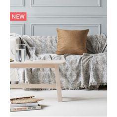 Ριχτάρι Διθέσιου καναπέ  Shell 04 180X250 by Kentia Decor, Furniture, House Design, Throw Pillows, Throw Blanket, Home Decor, Bed, Pillows, Entryway Bench