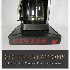Are you looking for a great accessory to add to your coffee station? Find accessories and more at: JustinCaseDeck.com  #justincasedeck #coffeeoclock #coffeelover #coffeedrinker #coffeemess #coffeelovers #coffeemesses #coffee #coffeestation #coffeeblog #coffeeblogger #coffeeaccessories #coffeeoverflow  #coffeemaker #coffeemugs  #spuzzosdeals  Http://www.JustinCaseDeck.com