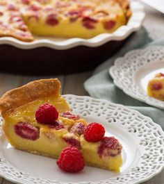 ... freeform lemon meringue tarts with lavender cardamom crust