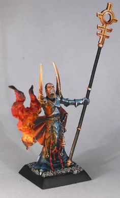 priest of the elemental god of fire