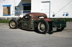 1947 International Rat Rod