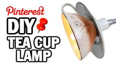 DIY Tea Cup Lamp - Man Vs Pin - How to Drill China (+playlist)