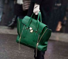 Coming in a close second to the Celine luggage tote...the Phillip Lim Pashli satchel.