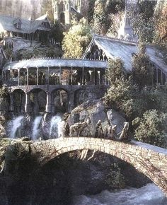 Rivendell- from Lord of The Rings... One of the GREATEST movie series of all time!!!