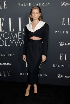 Hailey Bieber at Elle's 27th Annual Women in Hollywood Celebration - October 19, 2021