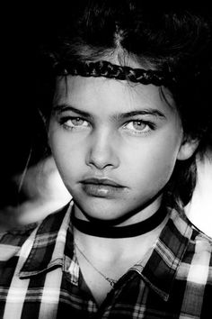 Thylane Blondeau -- I'm praying she never stops modeling. She's only going to get more beautiful.