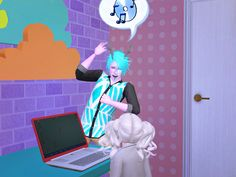 Mint: *plays air guitar to some oldie song*I'm a Cool Dad. I'm so hip, right?!