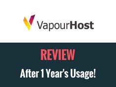 Starting a Website has become easy. It doesn't require any rocket science to make one. You only need a domain and hosting. Finding a Domain Registrar is pretty easy as ICANN issues all of them. What's tough is finding a Good and Reliable web hosts. VapourHost promises and proves as an excellent hosting with great customer support. #WordPress #Website #Host #Hosting #SEO #DigitalMarketing
