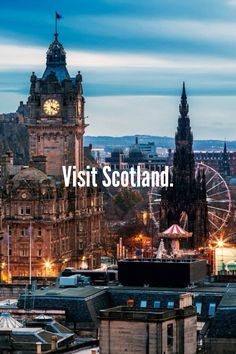 Bucket list-I love Scottish accents! And I have a little Scottish in me so it would be fun to go!