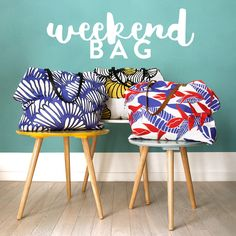 Abbas for a brief vacation? Try our weekend bags!