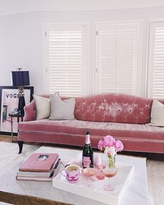 Cool slightly distressed look for the sofa #StylishLounge