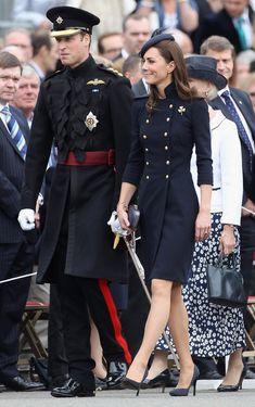 Kate Middleton Photos - The Duke And Duchess Of Cambridge Attend The Irish Guards Medal Parade - Zimbio