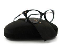 b4ea0e9f0953 NEW Tom Ford Eyeglasses TF 5189 Black 001 TF5189 54mm Cat Eye Glasses