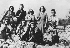 Female Partisan - Yugoslavia