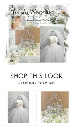 """""""Winter Wedding"""" by cindyanne-mroz-hernandez ❤ liked on Polyvore featuring interior, interiors, interior design, home, home decor and interior decorating"""