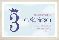 #princess birthday invitation