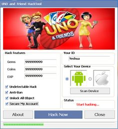 UNO and friends Hack Tool