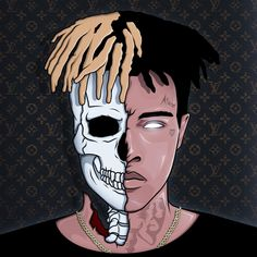 Risultati immagini per xxxtentacion drawing wallpaper Cartoon Wallpaper, Drawing Wallpaper, Hd Wallpaper, Arte Do Hip Hop, Hip Hop Art, Arte Dope, Dope Art, Xxxtentacion Quotes, Rapper Art