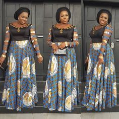 Stylish and Cutie Ankara Gown Styles You Should Rock for The Weekends - Best African Fashion Ankara And Aso Ebi Styles in 2020 Long African Dresses, Ankara Long Gown Styles, Ankara Gowns, African Print Dresses, Ankara Styles, Ankara Clothing, Clothing Styles, African Prints, African Fabric