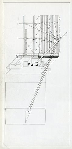 Arata Isozaki. Japan Architect. 53 Mar 1978: 14 #nonorthagonal