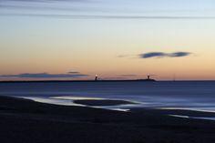 """La plage de Gruissan Photo d'Alain Félix issue du livre """"Gruissan la belle rebelle"""""""